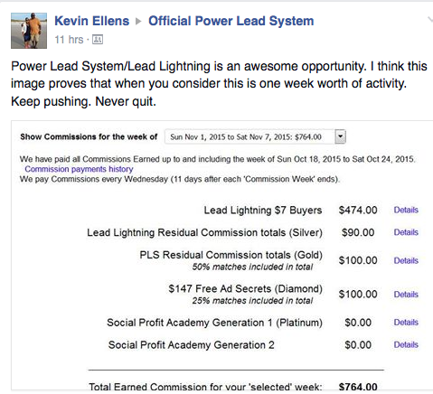 dominating power lead system and lead lightning